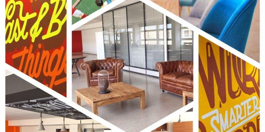 le 6 le nouvel espace de coworking de tvt archives blog. Black Bedroom Furniture Sets. Home Design Ideas