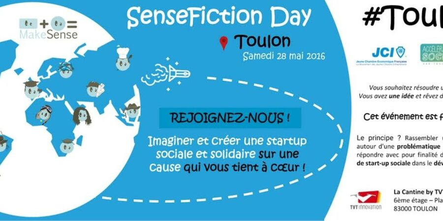 participez au premier sense fiction day toulon. Black Bedroom Furniture Sets. Home Design Ideas